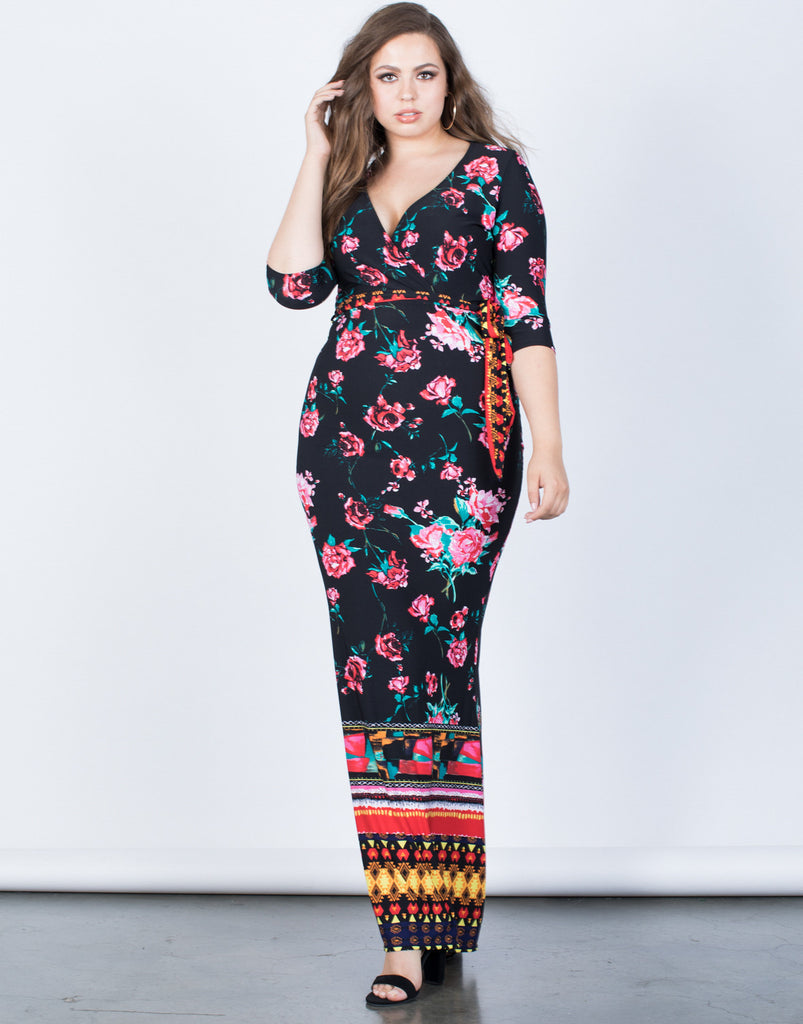 Plus Size Sweet Romance Dress - 2020AVE