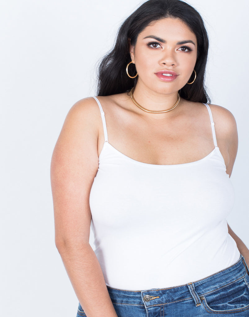 Detail of Plus Size The Essential Cami