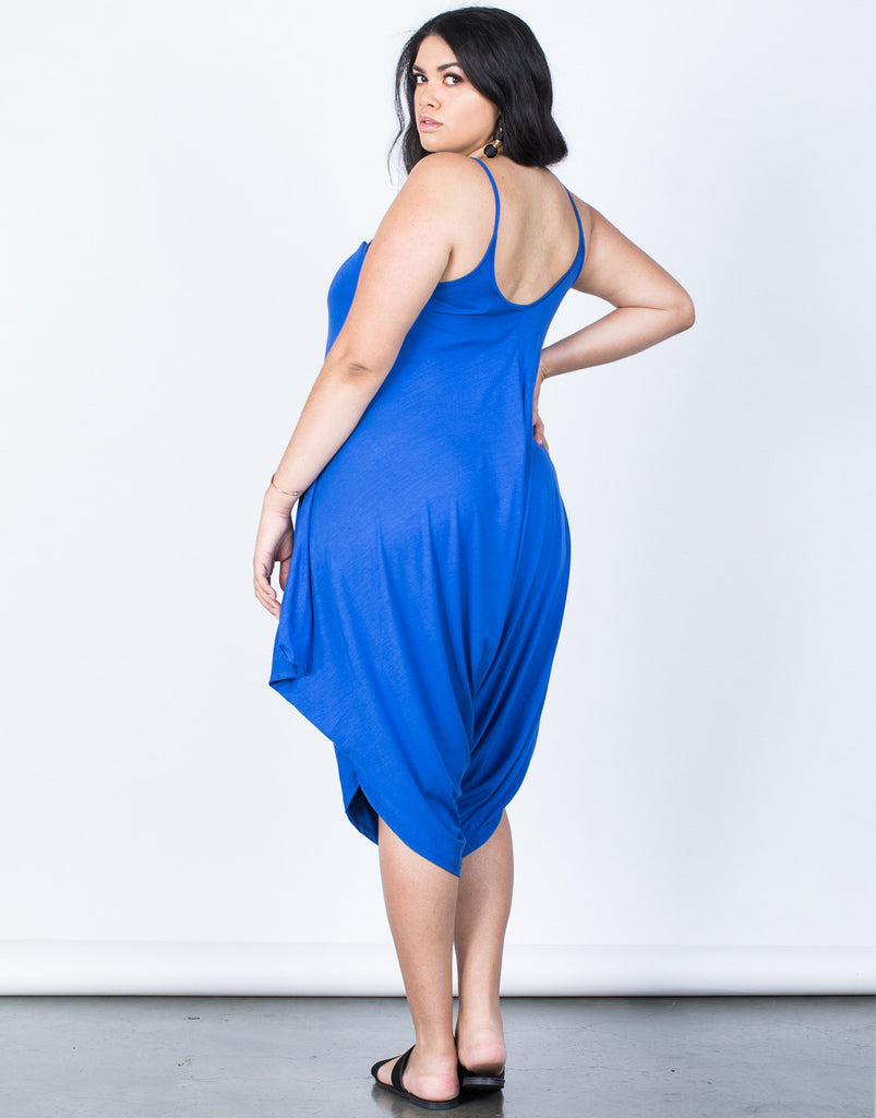 Back View of Plus Size The Perfect Lounging Jumpsuit