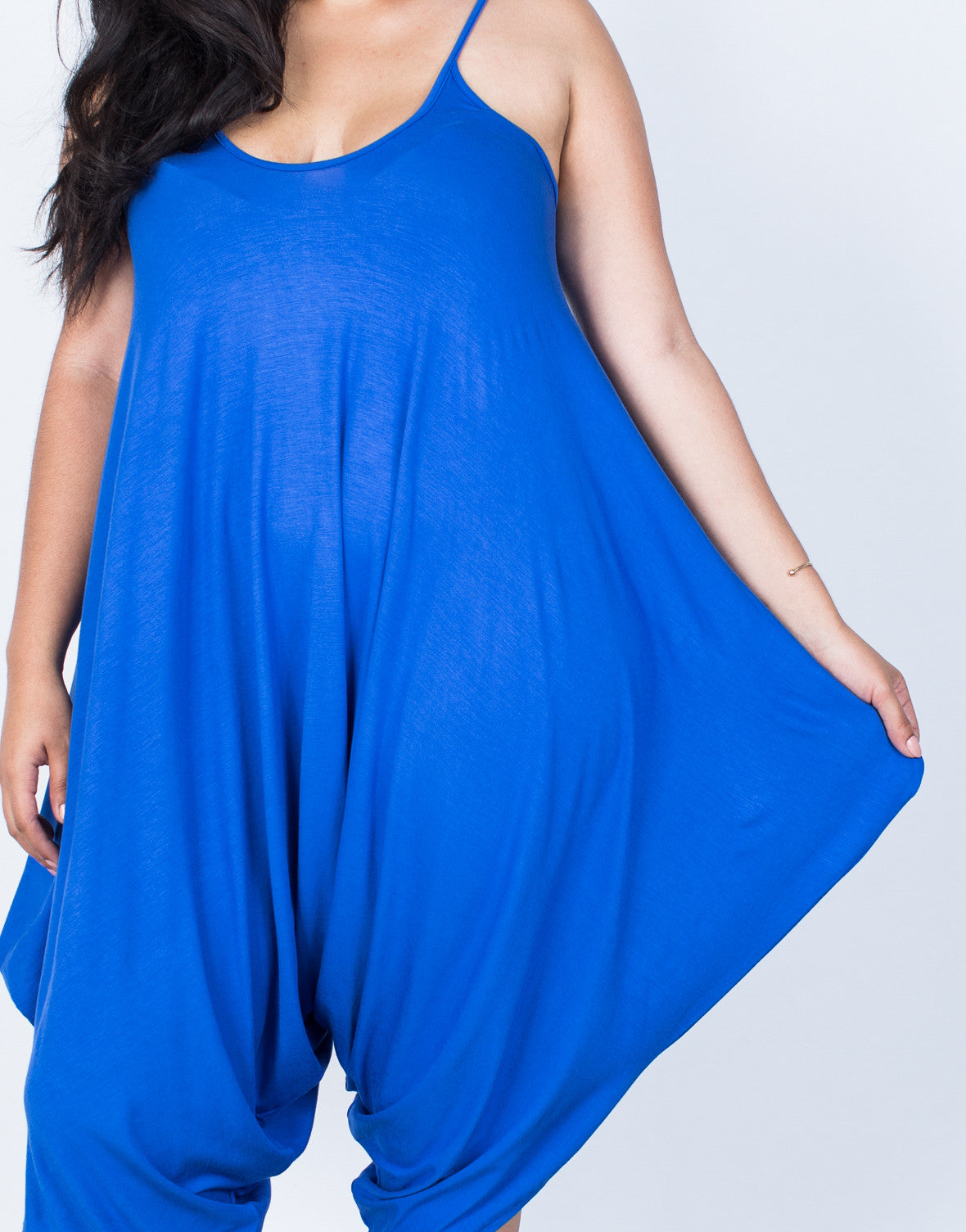 Detail of Plus Size The Perfect Lounging Jumpsuit