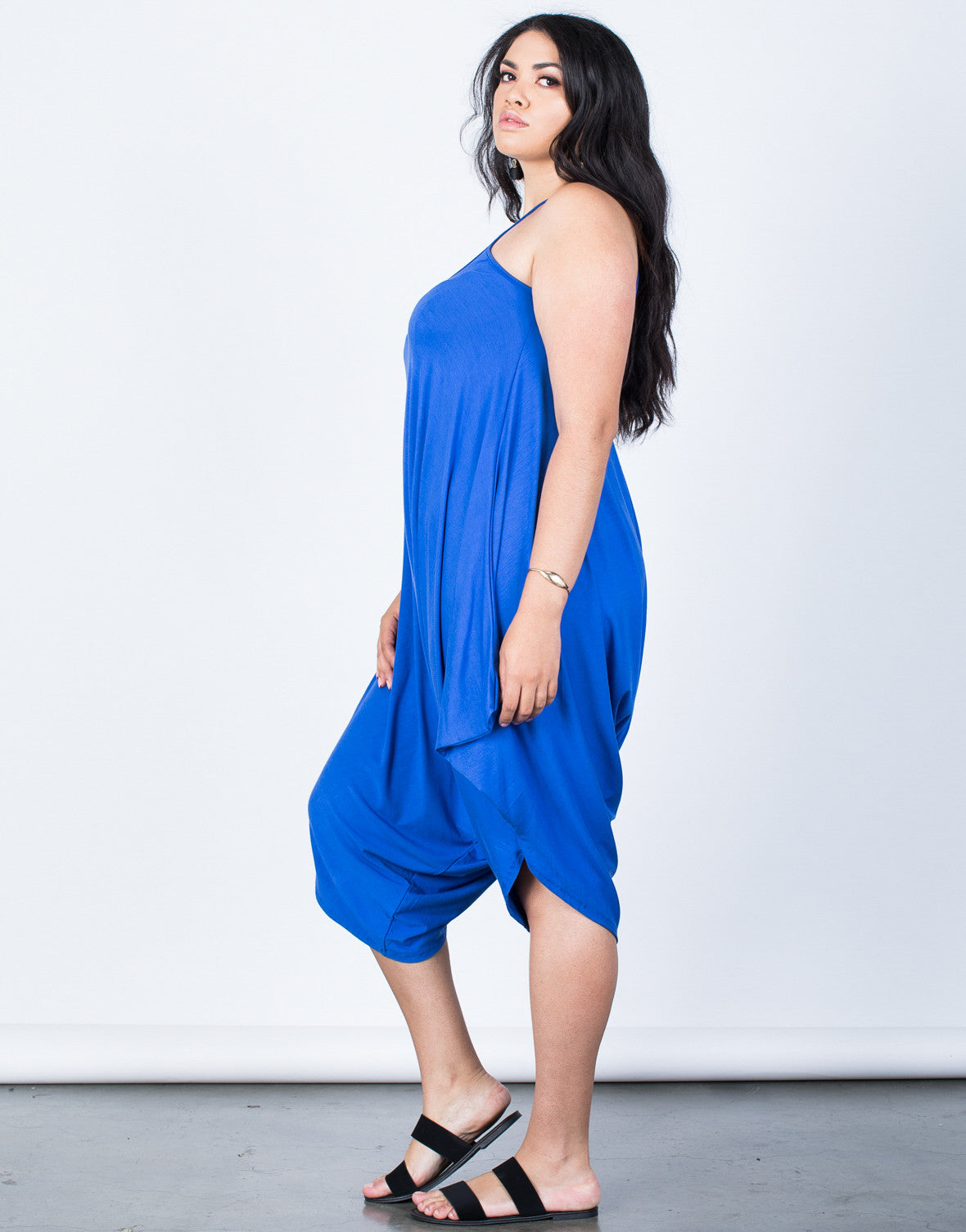 Side View of Plus Size The Perfect Lounging Jumpsuit