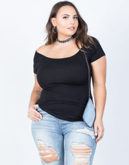 Plus Size The Versatile Tee