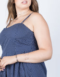 Plus Size Timeless Polka Dot Dress - 2020AVE
