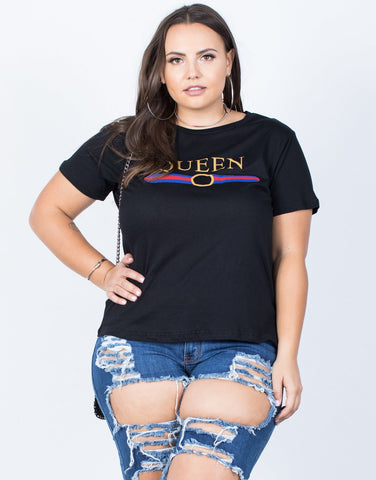 Plus Size Total Queen Tee - 2020AVE