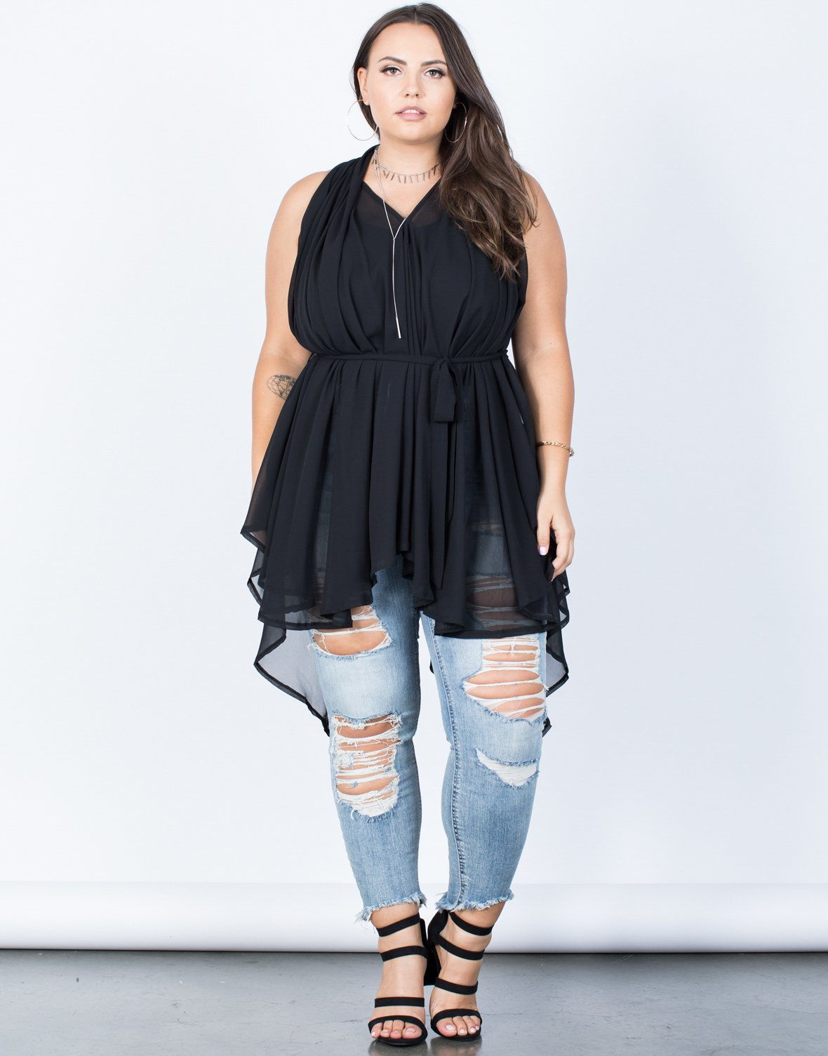 f489cf6bc7 Plus Size Totally Sheer Tunic - 2020AVE ...
