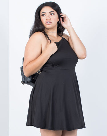 Plus Size Twirl Me Flowy Dress - 2020AVE
