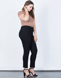 Plus Size Ultra Stretchy Pants - 2020AVE