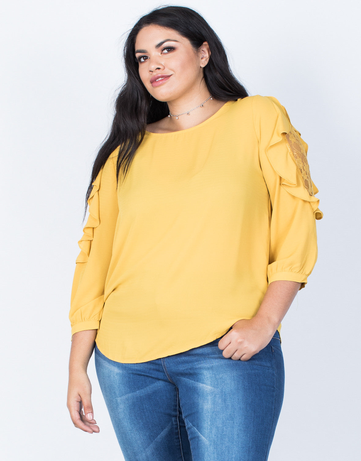 Our plus size clothing features flawless fits, comfortable fabrics, and versatile trends designed for sizes 10 – 30 (check out our size guide) We design our tops, dresses, & jeans with your body in mind to accent your curves just right.