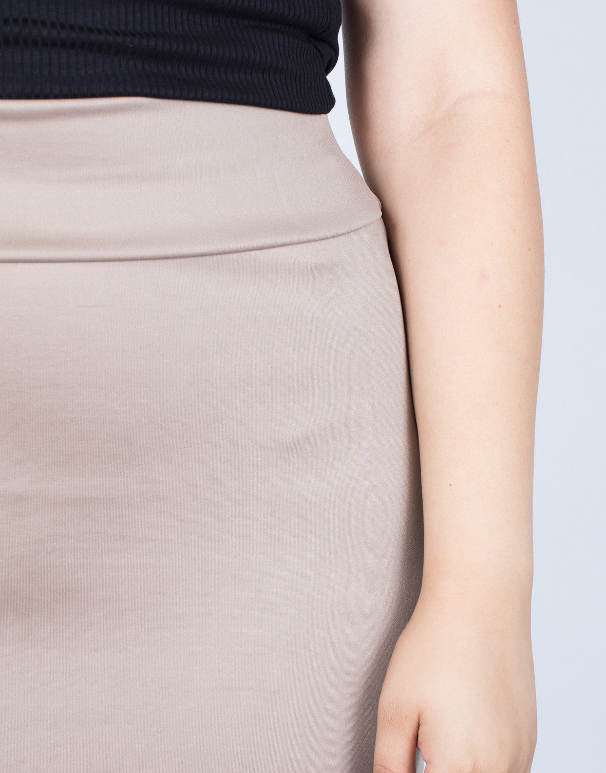 Plus Size Essential Bodycon Skirt - 2020AVE