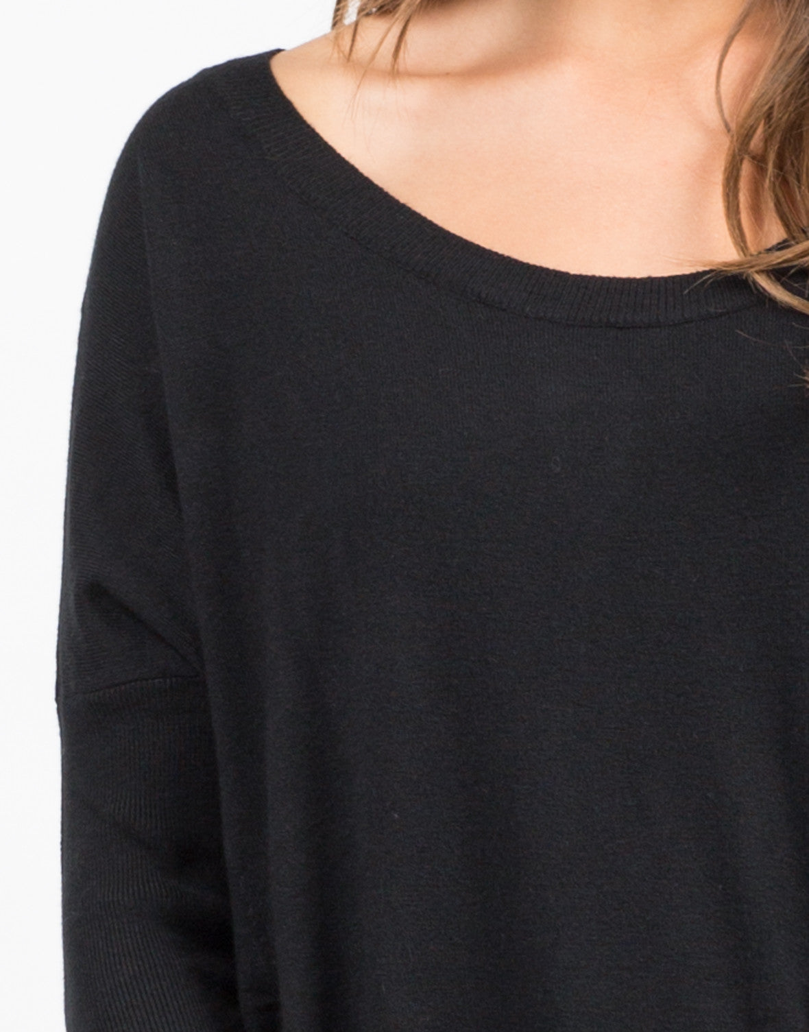 Detail of Pocket Sweater Top