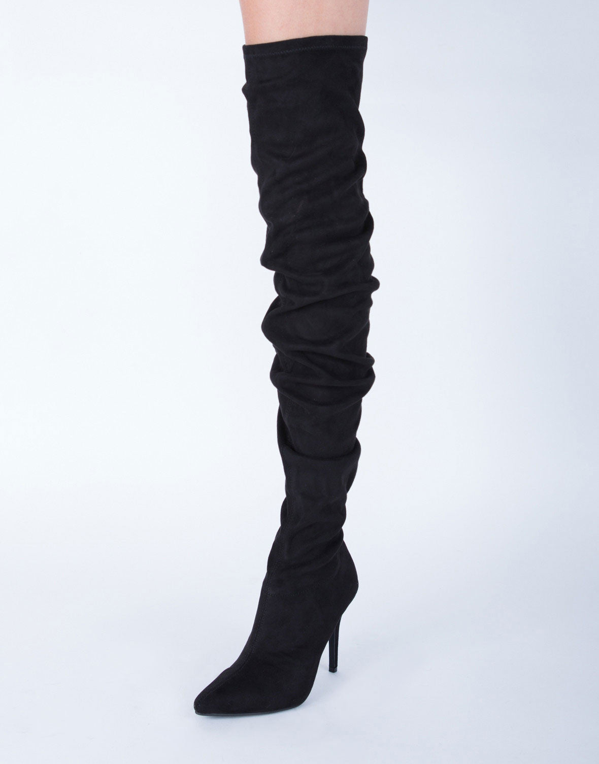 Pointy Toe Stiletto Boots