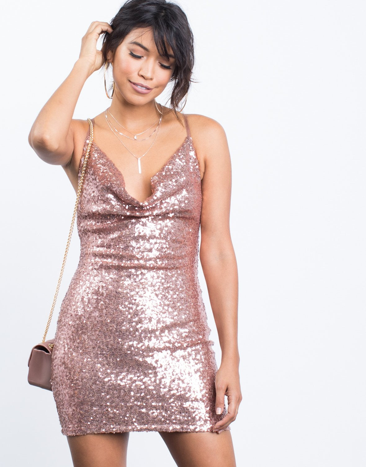 Pretty Sequin Party Dress – 2020AVE