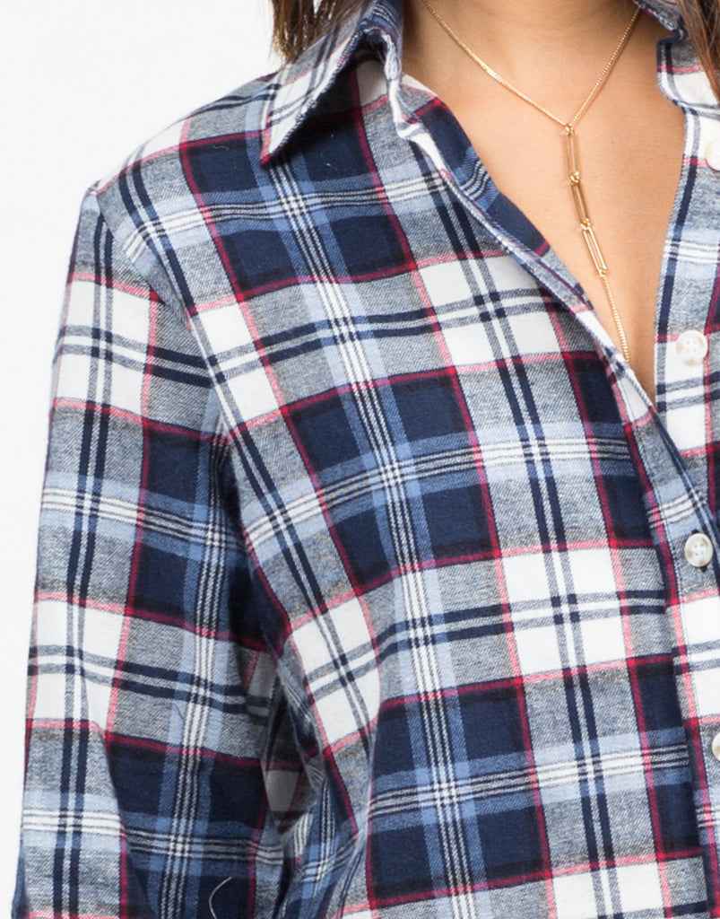 Printed Flannel Shirt - 2020AVE