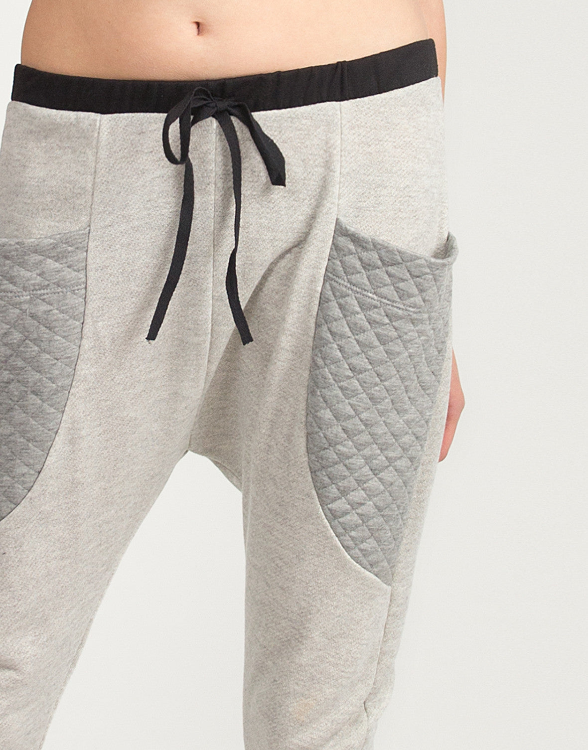 Quilted Pocket Sporty Joggers