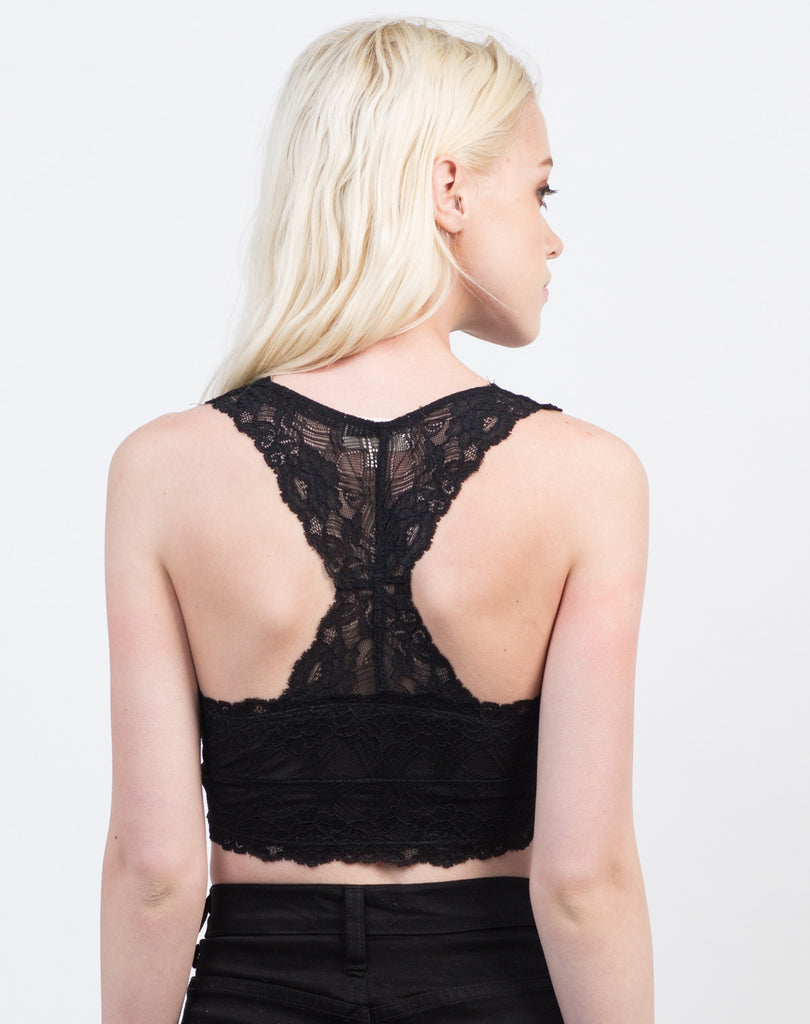 Racerback Lacey Bralette - 2020AVE