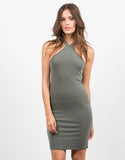 Front View of Racer Bodycon Dress