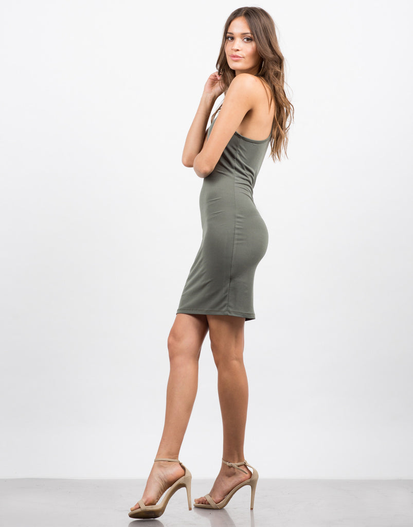 Racer Bodycon Dress - 2020AVE