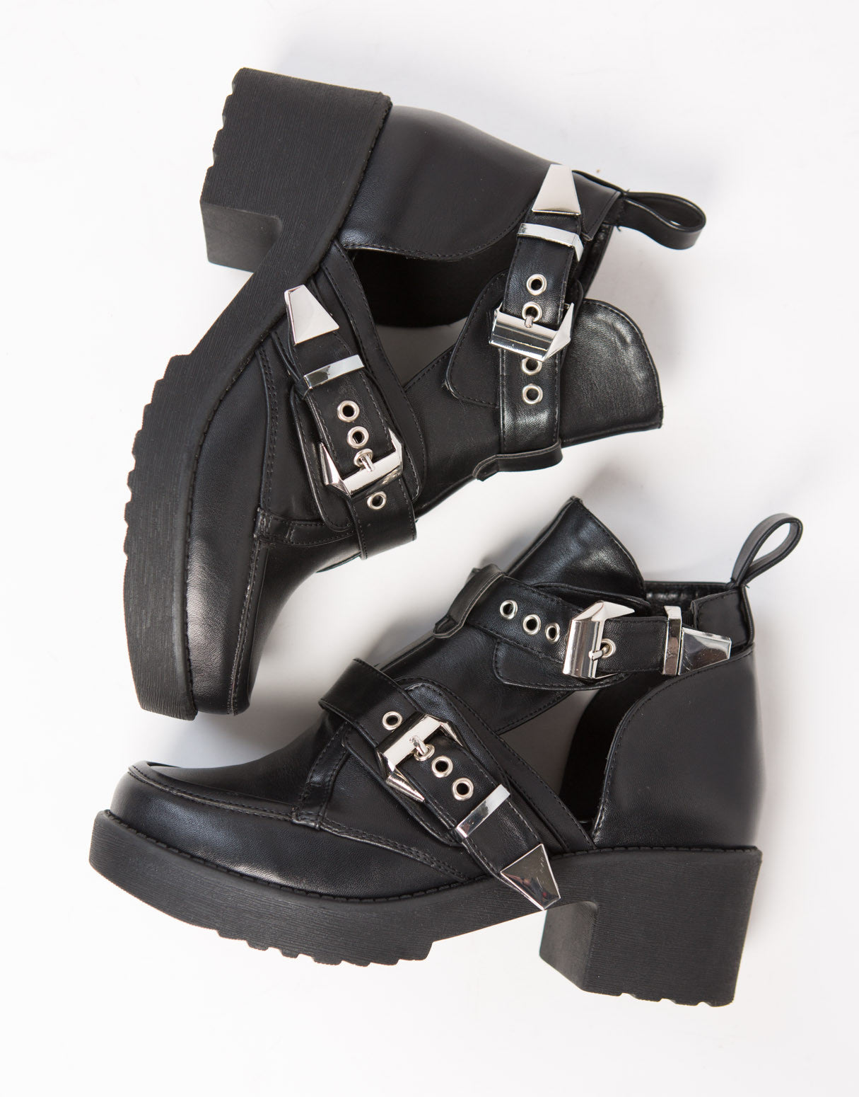 Rebel Cut Out Booties
