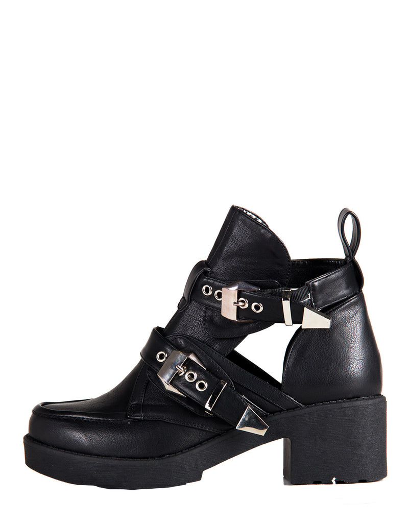 Rebel Cut Out Booties - 2020AVE