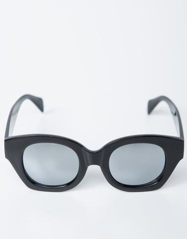 Front View of Reflective Sunnies