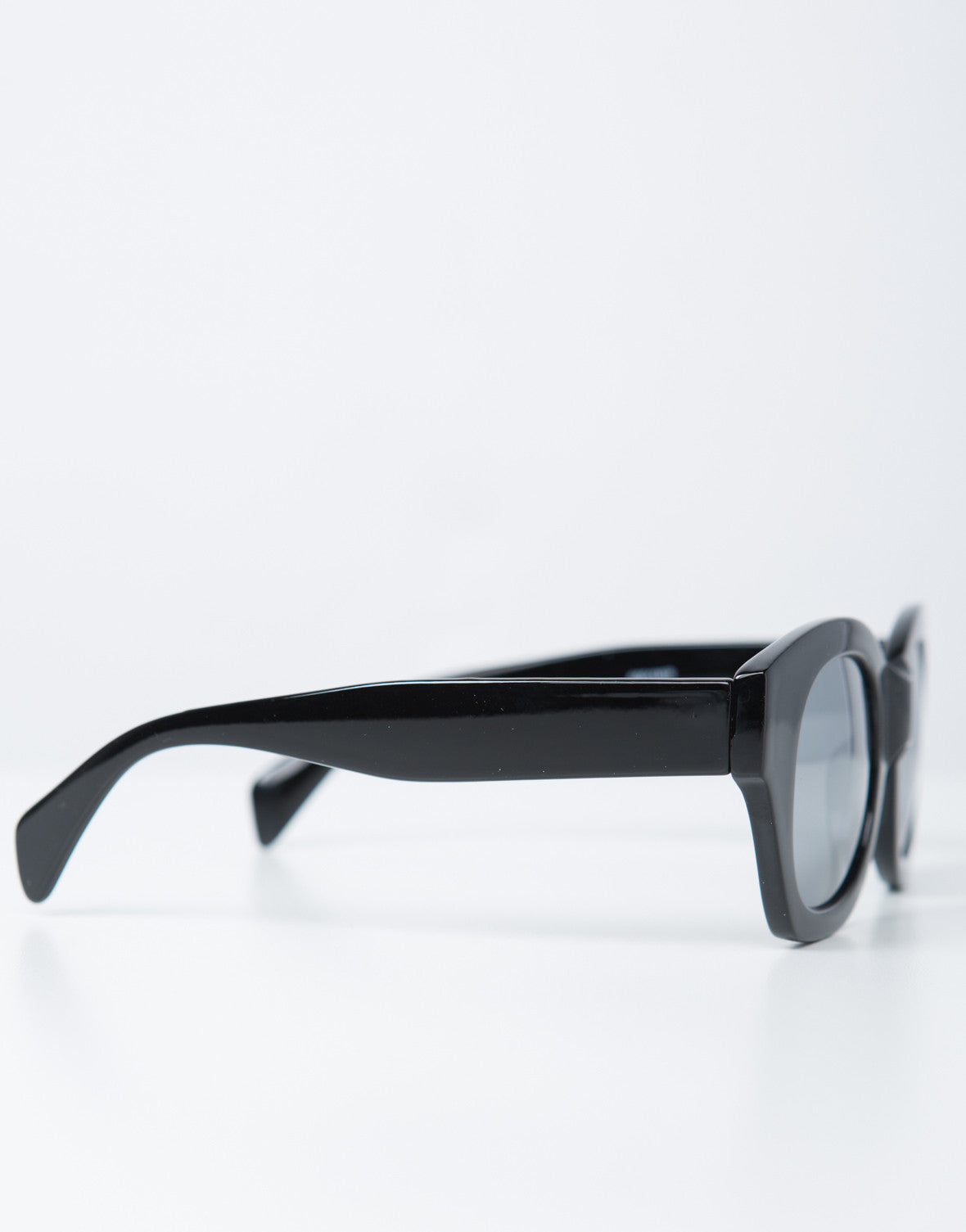 Side View of Reflective Sunnies
