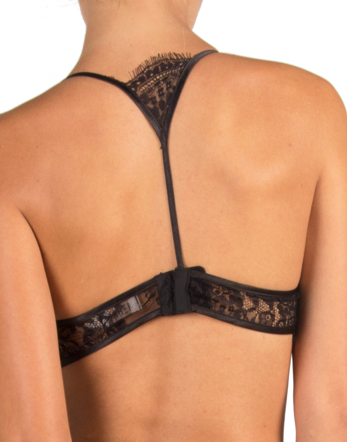 Rehab Clothing - T-Back Lace Demi Bra - Small