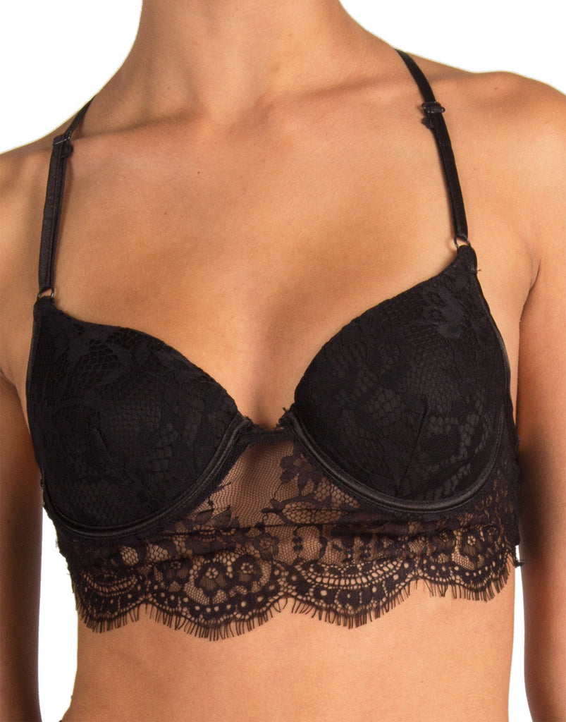 Rehab Clothing - T-Back Lace Demi Bra - Small - 2020AVE