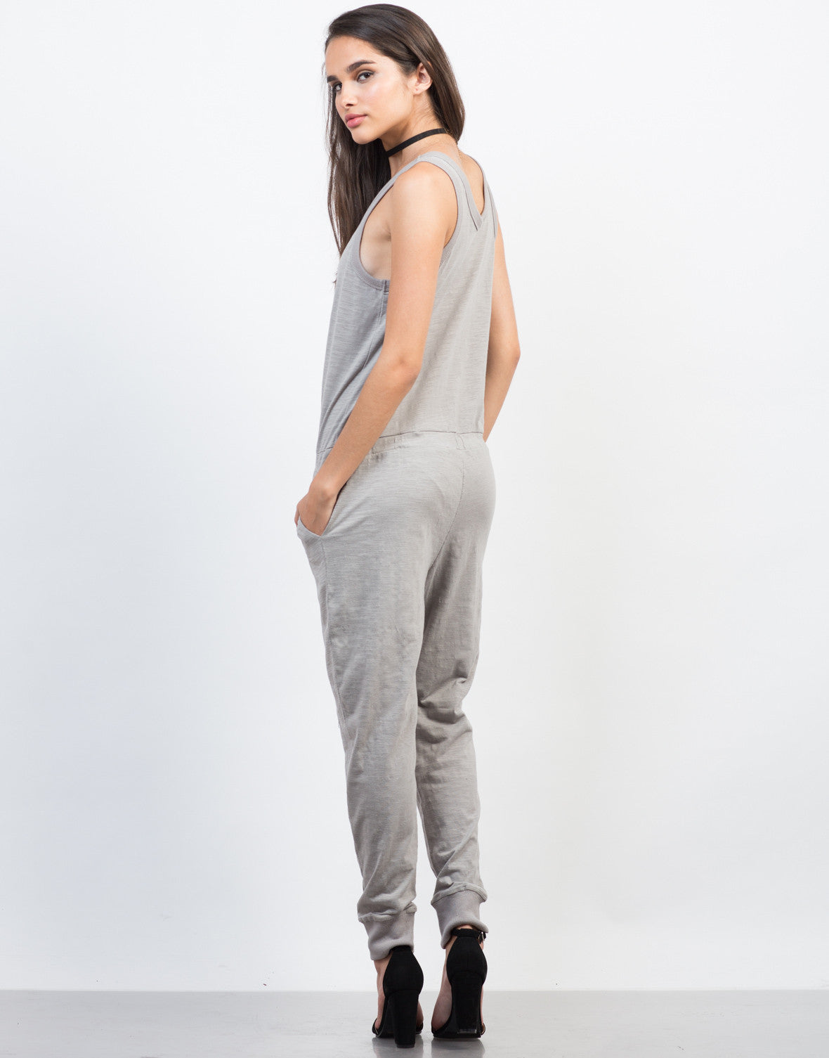 Back View of Relax and Lounge Jumpsuit
