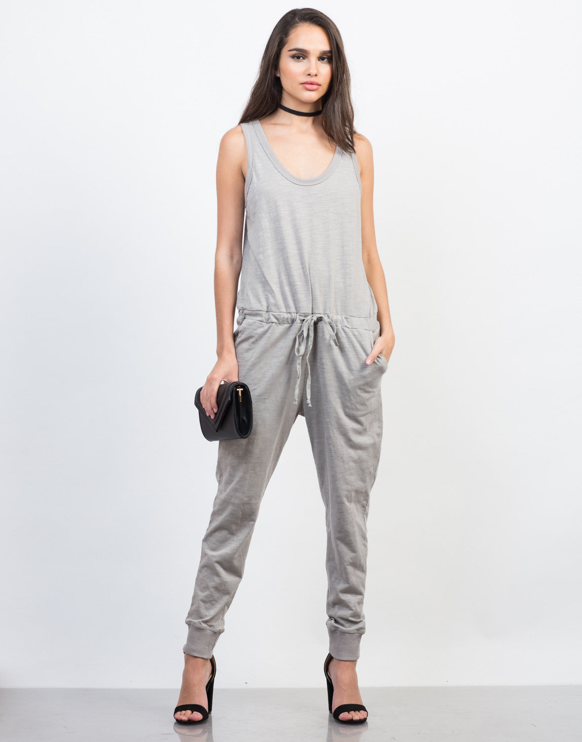 Front View of Relax and Lounge Jumpsuit