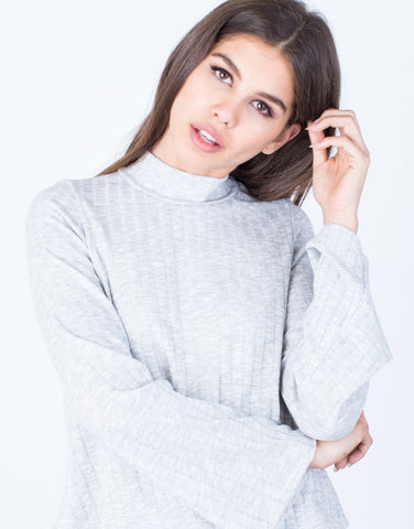 Detail of Relaxed Sweater Top