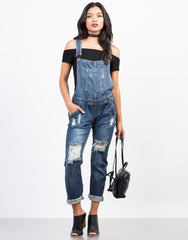 Relaxin' All Cool Denim Overalls