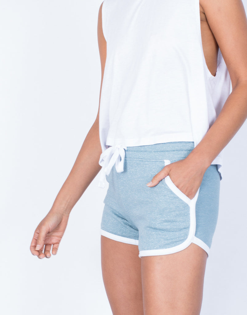 Detail of Relaxin' All Day Shorts