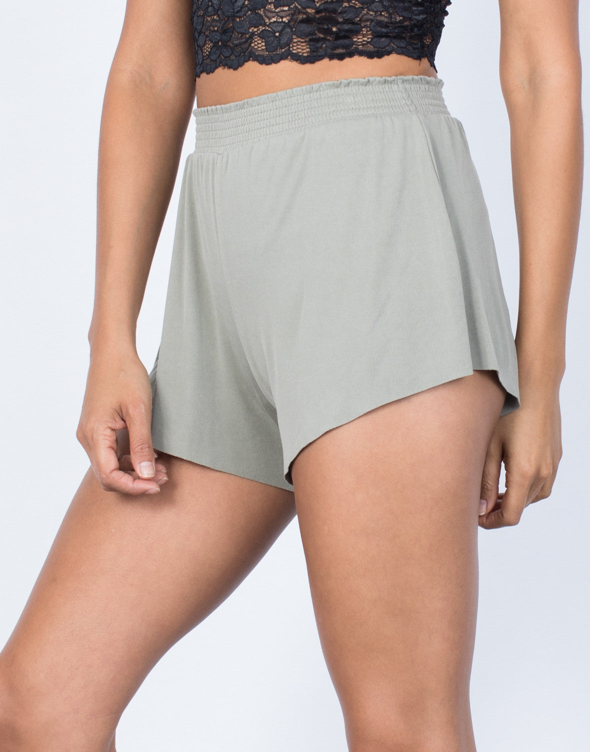 Relaxin' in Knit Shorts - 2020AVE
