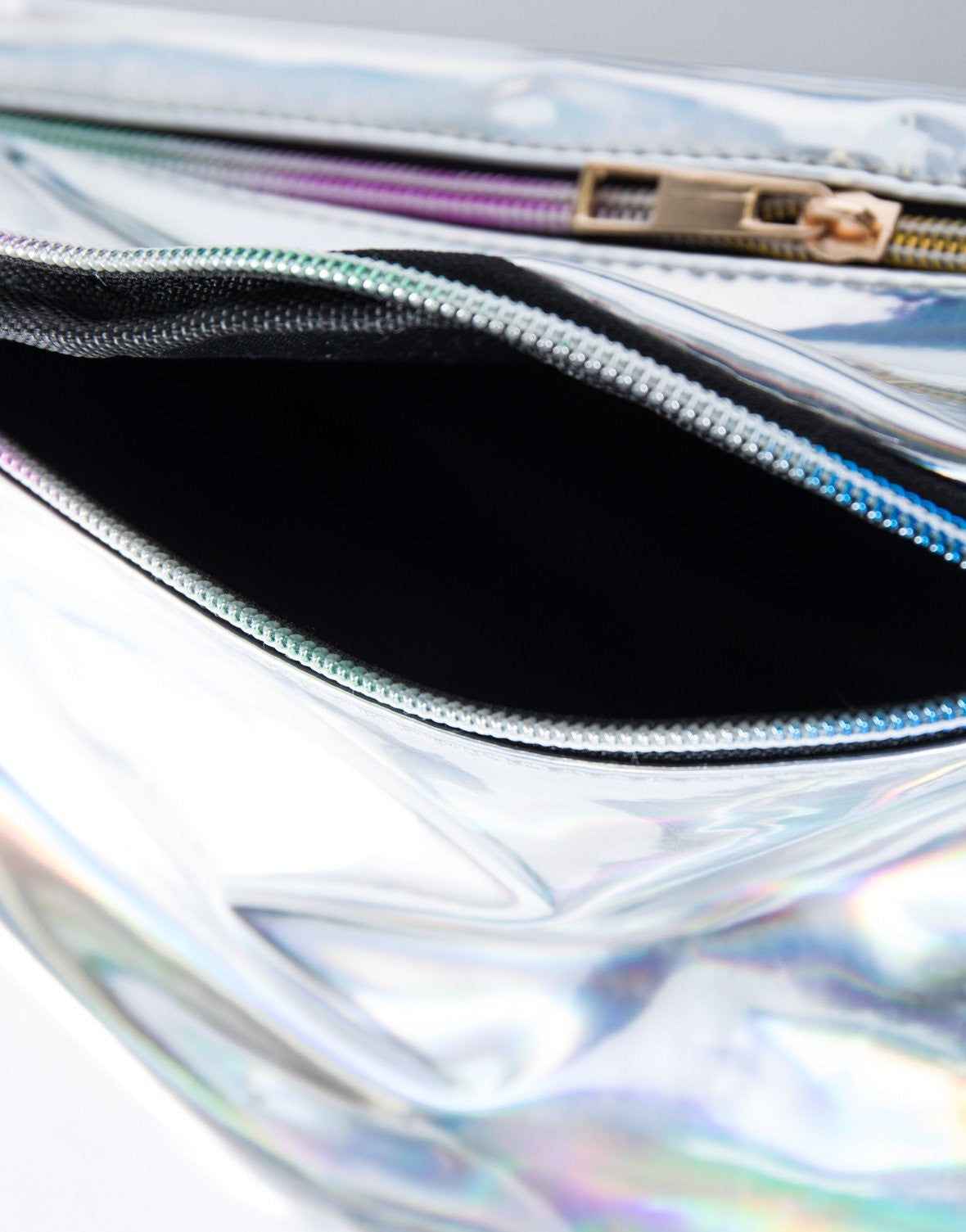 Silver Retro Daze Fanny Pack - Detail