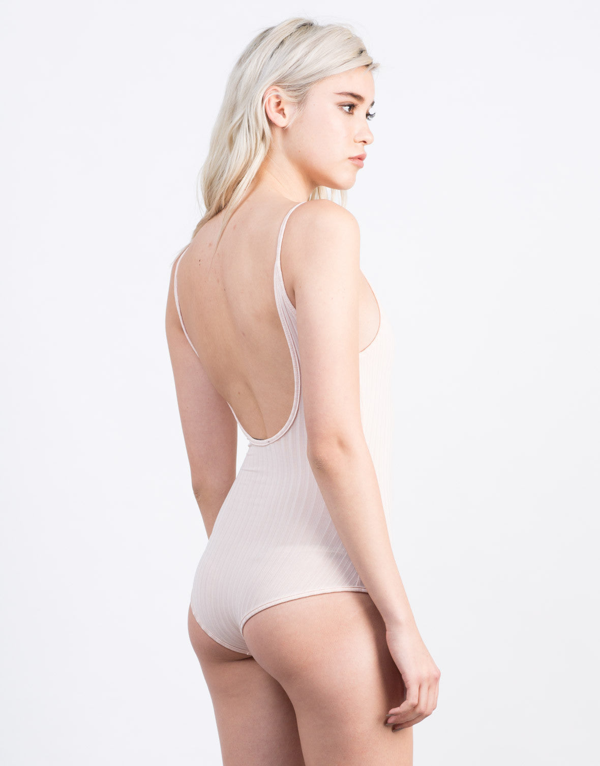 Ribbed Ballerina Bodysuit - 2020AVE