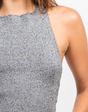 Detail of Ribbed Cross Back Top