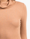 Detail of Ribbed Long Sleeve Bodysuit