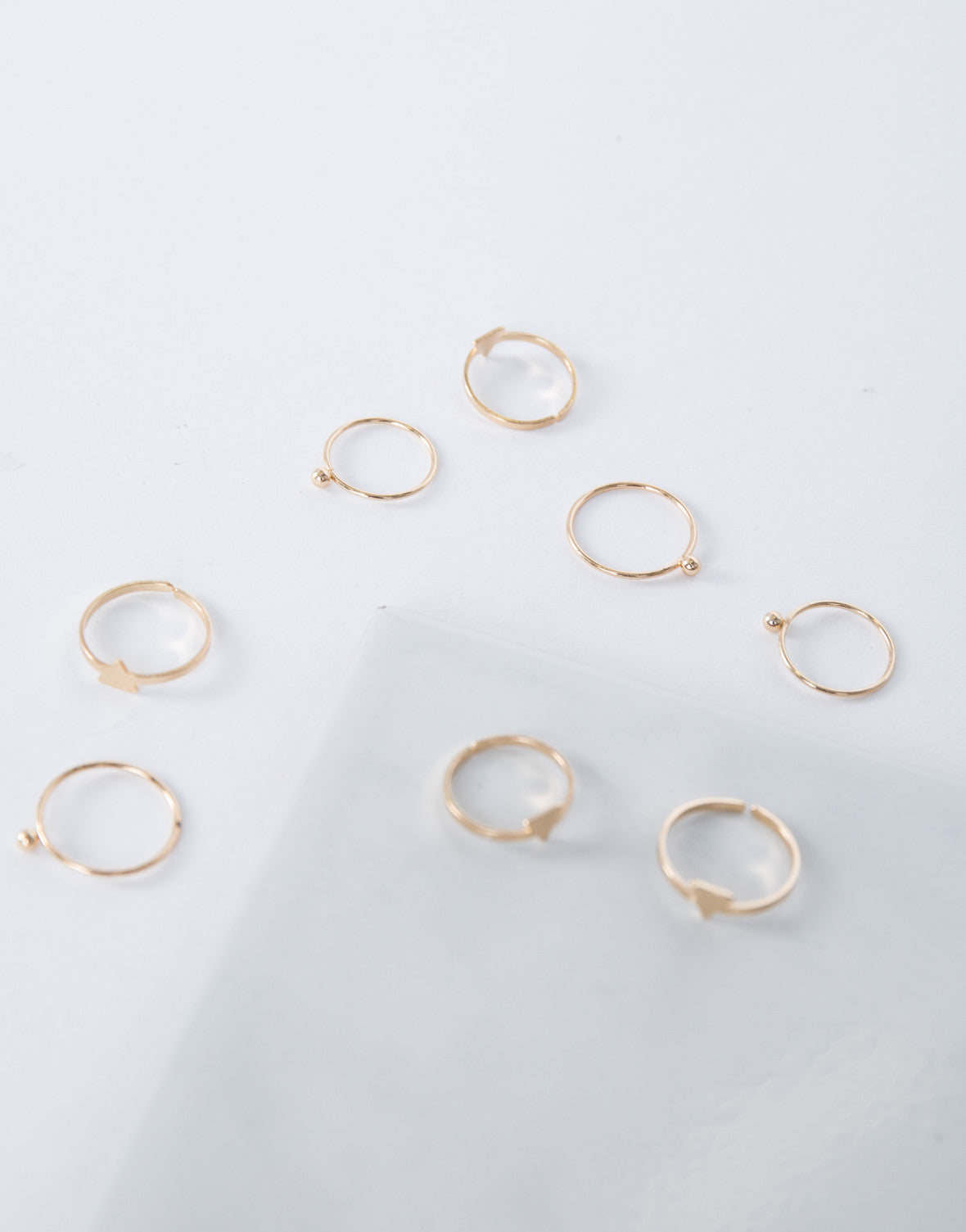 Right Direction Ring Set