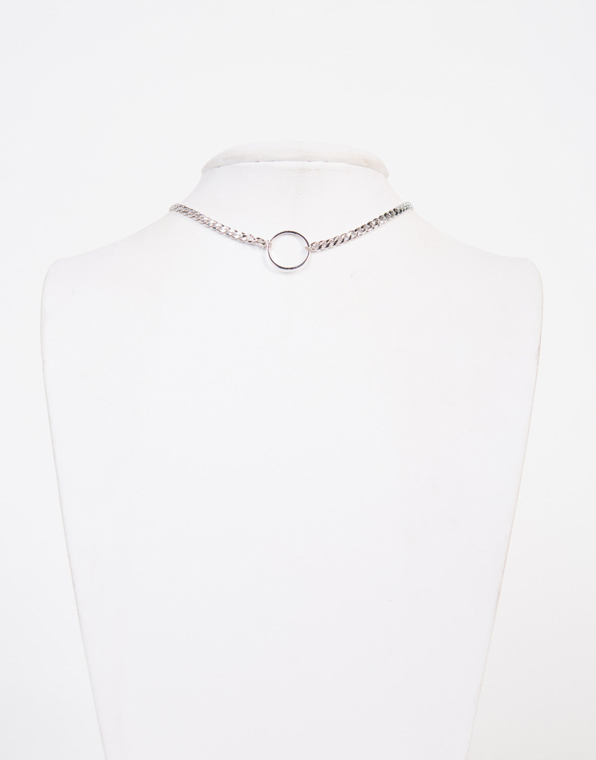 Ring Chained Choker