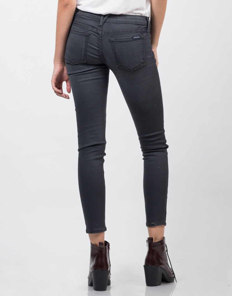 Ripped Knees Skinny Jeans - 2020AVE