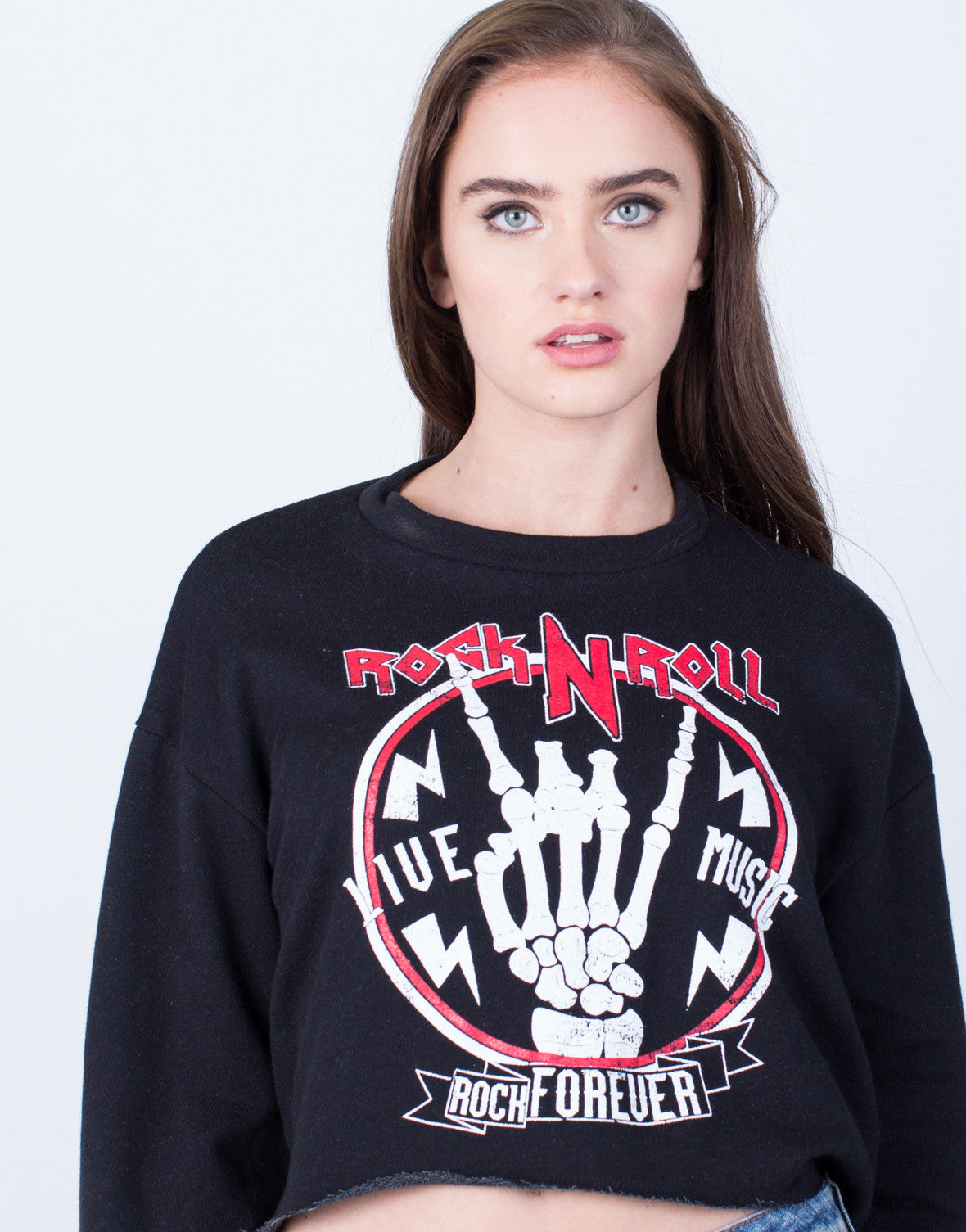 Detail of Rock n' Roll Sweatshirt