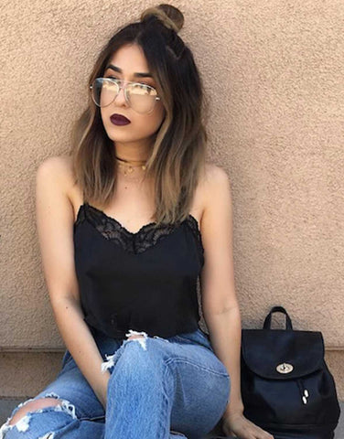 Romantic Lacey Crop Top - Blogger Rubi Love