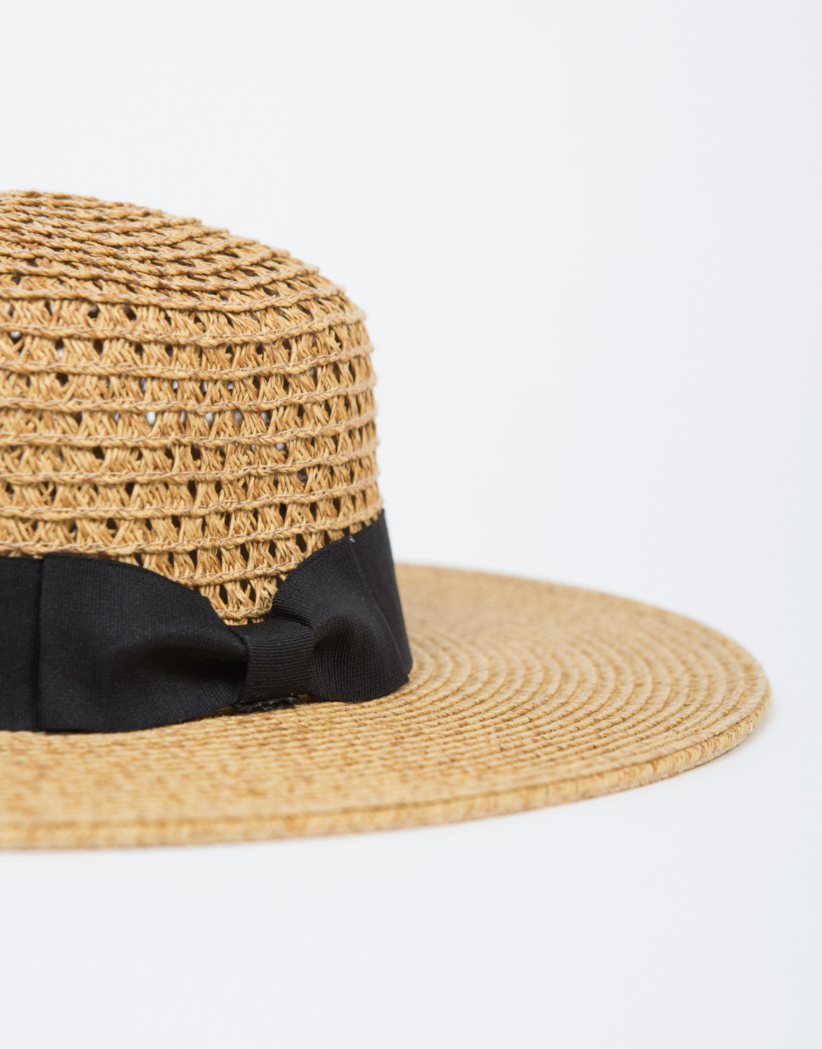 Round and Round Straw Hat
