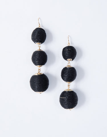 Round We Go Earrings