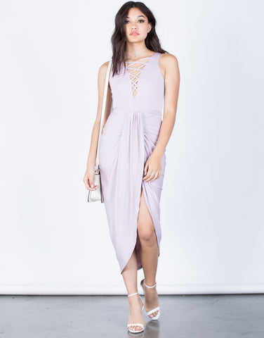 Ruched Front Party Dress - 2020AVE