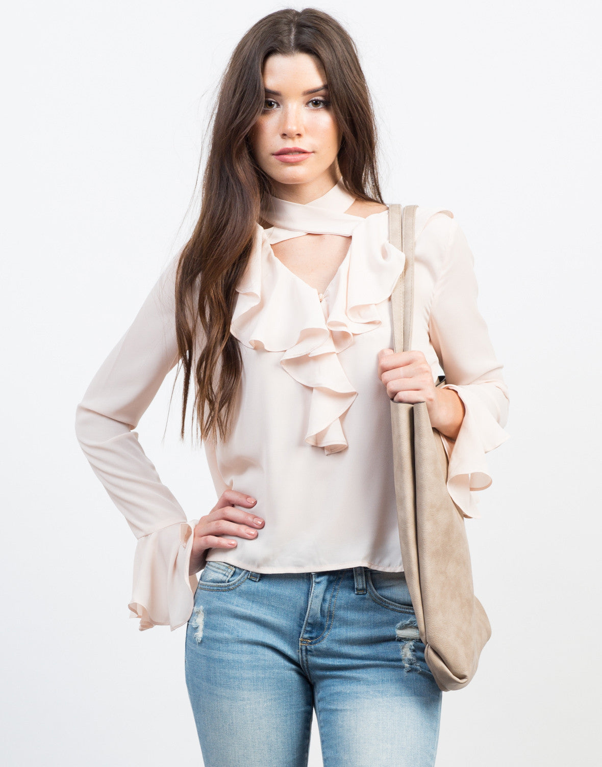 Ruffle Me Up Blouse