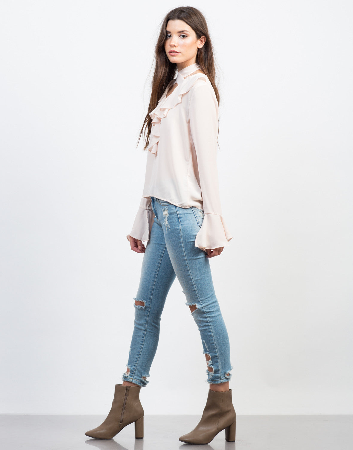 Ruffle Me Up Blouse - 2020AVE
