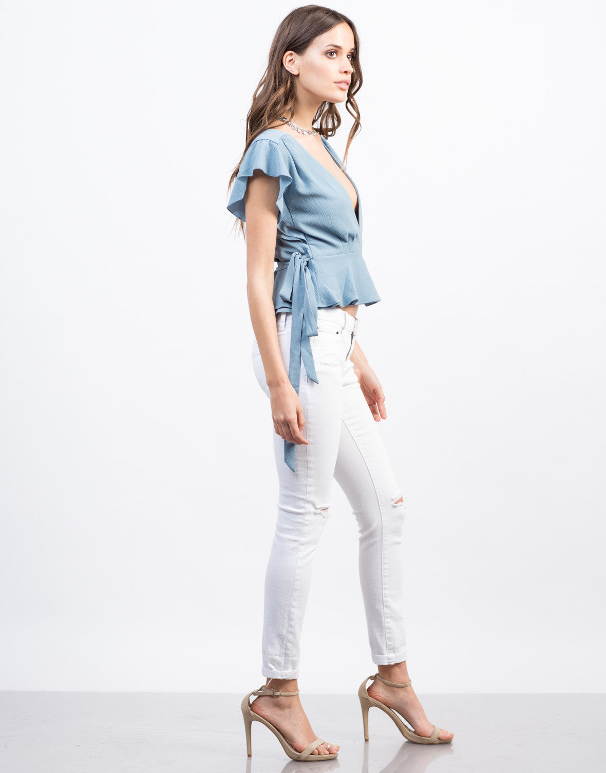 Ruffled Blouse - 2020AVE