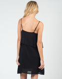 Back View of Ruffled Cami Dress