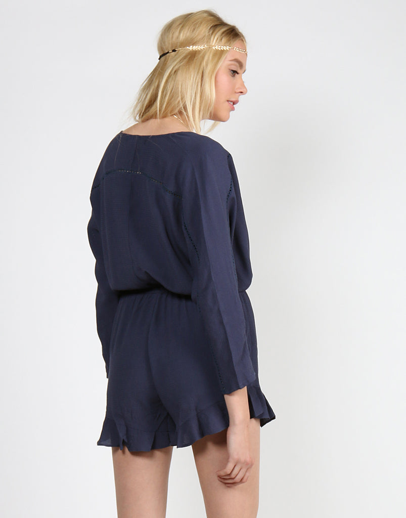 Ruffled Crochet Romper - 2020AVE